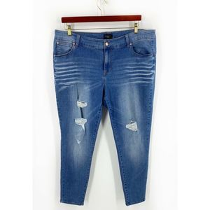 Celebrity Pink Shaper Skinny Jeans Size 20 NEW